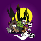 Monsterfamilienporträt Stockbild