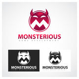 Monsterious lekutveckling Vektor Illustrationer