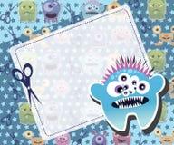 Monsterkarte Stockbilder