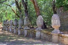 Monsterpark in Bomarzo, Viterbo - Italië Royalty-vrije Stock Foto