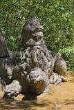 Monsterpark in Bomarzo, Viterbo - Italië Stock Fotografie