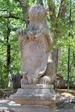 Monsterpark in Bomarzo, Viterbo - Italië Stock Afbeelding