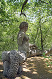 Monsterpark in Bomarzo, Viterbo - Italië Royalty-vrije Stock Afbeeldingen