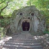 Monsterpark in Bomarzo, Viterbo - Italië Stock Foto