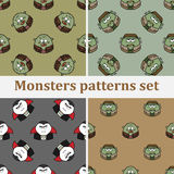 Monsterpatroon Royalty-vrije Stock Fotografie