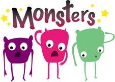 Monsters Royalty-vrije Stock Foto
