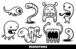 Monsters Stock Photography