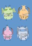 Monsters Stock Afbeelding
