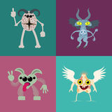 Monsters Royalty Free Stock Photos