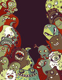 Monsters and Aliens vector illustration