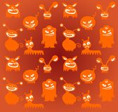Monsters background Royalty Free Stock Photos