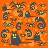 Monsters background Stock Photo