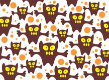 Monsters background Royalty Free Stock Photo