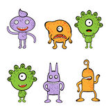 Monsters collection Stock Photography