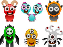 Monsters collection 2 Royalty Free Stock Photo