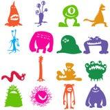 Monsters_color Ilustração Royalty Free