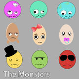 The monsters Royalty Free Stock Photography