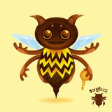 Monsters - The Honey Beest Stock Images