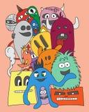 monsters Ilustração do vetor Imagem de Stock