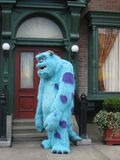 Monsters INC. Sully from Monsters INC animation. Sully in front of his house at Disney California Adventure Stock Photo