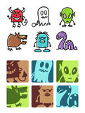 Monsters & legends Royalty Free Stock Photography