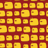 Monsters pattern Royalty Free Stock Images