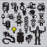 Monsters and robots collection #16. Monsters and robots collection. Vector illustration Stock Photos