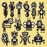 Monsters and robots collection #19. Monsters and robots collection. Vector illustration Royalty Free Stock Photography