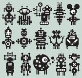 Monsters and robots collection #20. Royalty Free Stock Images