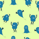 Monsters Seamless Royalty Free Stock Photography