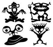 Monsters set. Stock Image