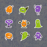 Monsters Sticks Stock Images