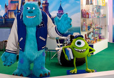 Monsters University Mike and Sulley Royalty Free Stock Photo