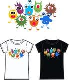 Monstert-shirt Lizenzfreie Stockfotos