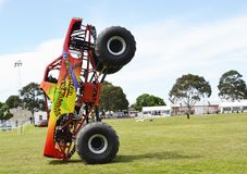 Monstertruck stockfoto