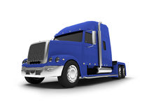 Monstertruck isolated blue front view Stock Photo