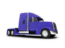 Monstertruck isolated blue front view Stock Image