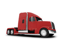 Monstertruck isolated red front view Stock Photo