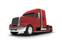 Monstertruck isolated red front view Royalty Free Stock Photo