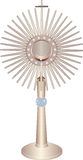 Monstrance. Liturgical vessel monstrance -  illustration Stock Photo