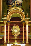 monstrance royalty-vrije stock foto
