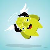 Monstre à cornes Image libre de droits