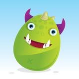 Monstre à cornes Photo stock