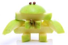 monstre amical de fruit Photographie stock libre de droits