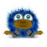 Monstre bleu Images stock
