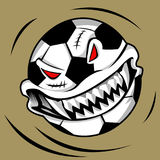 Monstre de boule de Halloween Photo stock