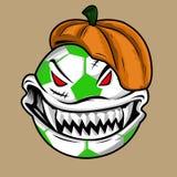 Monstre de boule de Halloween Images stock