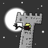 Monstre de château Image libre de droits