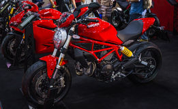 Monstre de Ducati Photographie stock