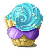 Monstre de gâteau Illustration Libre de Droits